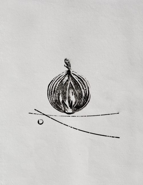 Onion & Polka Dot Fine Art Print